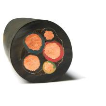 Conductor de cobre redondo redondo libre de oxiácido Cable de goma flexible H07RN-F resistente a altas temperaturas