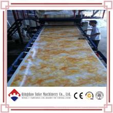 Línea de producción de extrusoras de lámina de mármol PVC