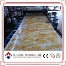 PVC Marble Sheet Extruder Production Line