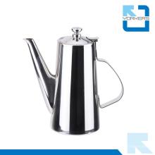 Uso prático 201 Chaleira de água de aço inoxidável e pote de chá com bico longo