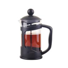 Heißer Verkauf Kunststoffgriff Pyrex Borosilikatglas Kaffeekanne