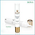 Eye Cream Plastic PE Tube with Shiny Golden Cap