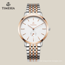 Customized Luxury Watch with IP Gold Plating 72018