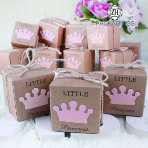 Chocolate Box Candy Box Kraft Paper for Festival
