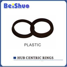 Heißer Verkauf Plastiknabe zentrische Ringe mit konkurrenzfähigem Preis