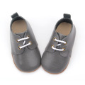 Alta Qualidade Soft Sole Skidproof Baby Leather Shoes