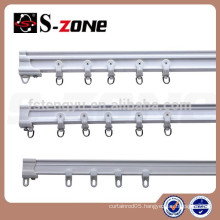 Best selling product plastic bendable curtain track for hotel and hospital