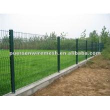 Power PVC beschichtet Zaun Panel Hersteller