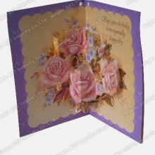 Pop-up Greeting Cards, Powitanie, Muzyka Greeting Card