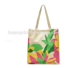 Customized high quality canvas tote bag 100% factory China supplier