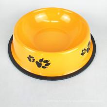 Малый Средний Большой Размер Чаша для домашних животных Прочная миска для домашних животных Нескользящая кормушка для собак из нержавеющей стали