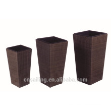 New Style Synthetic Rattan Flower Pot