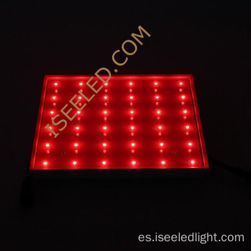 Panel de luz LED RGB colorido y programable