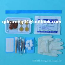 Kit de préparation pour infusion stérile jetable médical