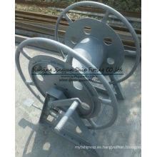 Cabrestante de cable de color gris