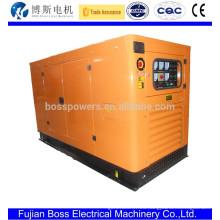Electric start Quanchai generador diesel de bajo ruido 12kw