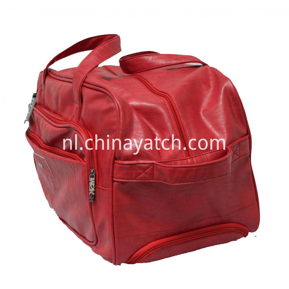 Cassic Red Duffle Bag
