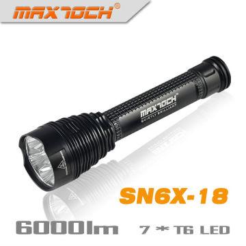 Maxtoch SN6X-18 26650 Cree 6000 Lumen LED-Taschenlampe