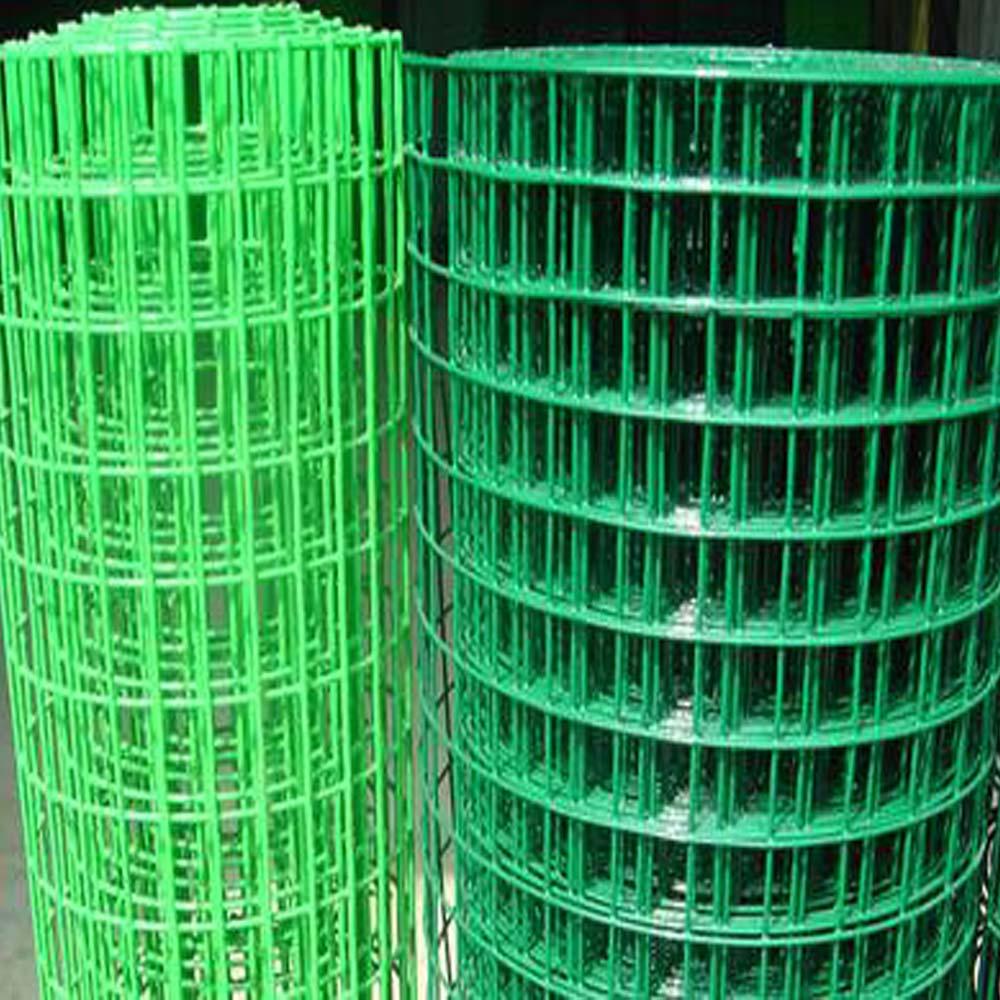 PVC beschichtete quadratische geschweißte Maschendraht-Rolle China ...