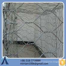 Anping Baochuan Directly Sale Hexagonal Welded Gabion Baskets