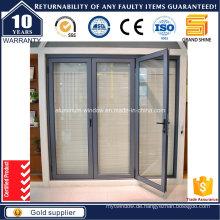 European Design Thermal Break Aluminium Bi-Fold Tür