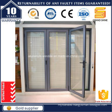 European Design Thermal Break Aluminum Bi-Fold Door