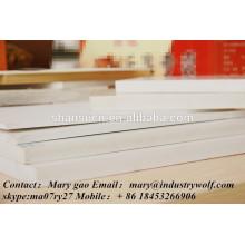PVC-Extrudiertes Schaum-Brett / Blatt für Zeichenbrett u. Anzeigetafel / plexiglas Blätter / Materialien bei der Herstellung der Hefterzufuhren / der Polycarbonatblätter