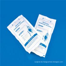 Glatte und raue, nicht-sterile Latex-Untersuchungshandschuhe mit CE, ISO,