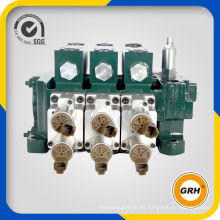 Válvula de control manual de la válvula de control seccional hidráulica de alta calidad 80L / Min de China OEM