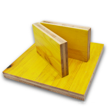 Three Ply Yellow Concrete Construction Shuttering Panels/Construction Modular Formwork For Sale