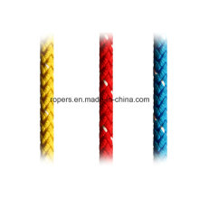 Cordes de 8mm T8 (R221) pour l'industrie de dériveur, principales cordes de Halyard / Sheetjib / Gênes d'Halyard
