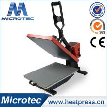 Prensa de calor abierto automático de alta presión con cama de presión deslizable