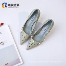Beautiful hollow high heels new model footwear women sandals