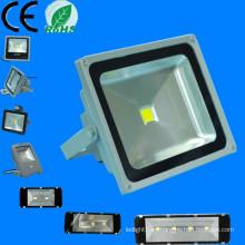 Surtidor de China productos calientes de la venta 100-240V 2700K-5700K ip65 al aire libre 50 watt rgb llevó la luz de inundación