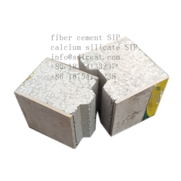 Стеновая панель из волокнистого цемента сэндвич-панель из композитного цемента EPS