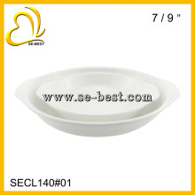 "7""/ 9"" SOUP TRAY ; MELAMINE DINNER PLATE"