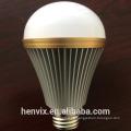 Alto CRI blanco caliente 9w llevado bombillas para el hogar