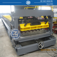 Hydraulische Presse-Aluminiumdachplatte-Rolle, die Maschine bildet