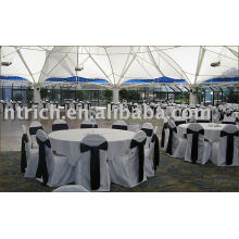 100%polyester chair cover,banquet/hotel chair cover,satin chair sash