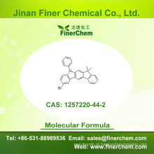 Cas 1257220-44-2 | 2-Bromo-5,7-di-hidro-7,7-dimetil-5-fenilindeno [2,1-b] carbazole | 1257220-44-2 | preço de fábrica; Grande estoque