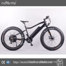 Motorlife /brand 2017 Hot sale 48V 750W electric mountain bike