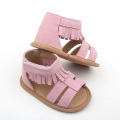 Soft Leather Infant Toddler Shoe Baby Leather Moccasins
