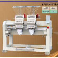 Machine de broderie informatisée à 2 têtes 15 couleurs à haute vitesse