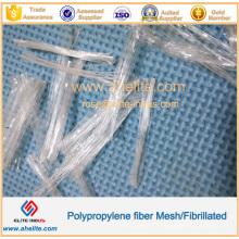 Forme de maille de fibre de polypropylène d'ingénierie anti-gelée