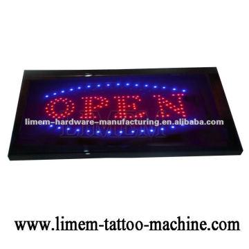 Panneau de panneau LED ouvert