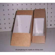 Sandwich Box Paper Take Away Food Box Conteneur alimentaire, emballage de biscuits