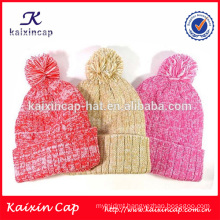 High quality jacquard winter knitted beanies