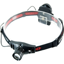 T20 Brightest 3W Plastic Telescopic Zoom High Power LED Headlamp