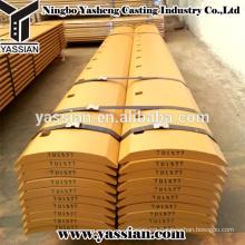 High Quality Carbon seel&boron steel heavy equipment 7D1577 cutting edge bulldozer cutting edge and end bits q345b cutting edge