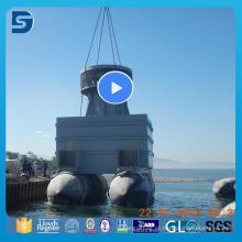 Balão de borracha de alta capacidade de carga para o lançamento do barco